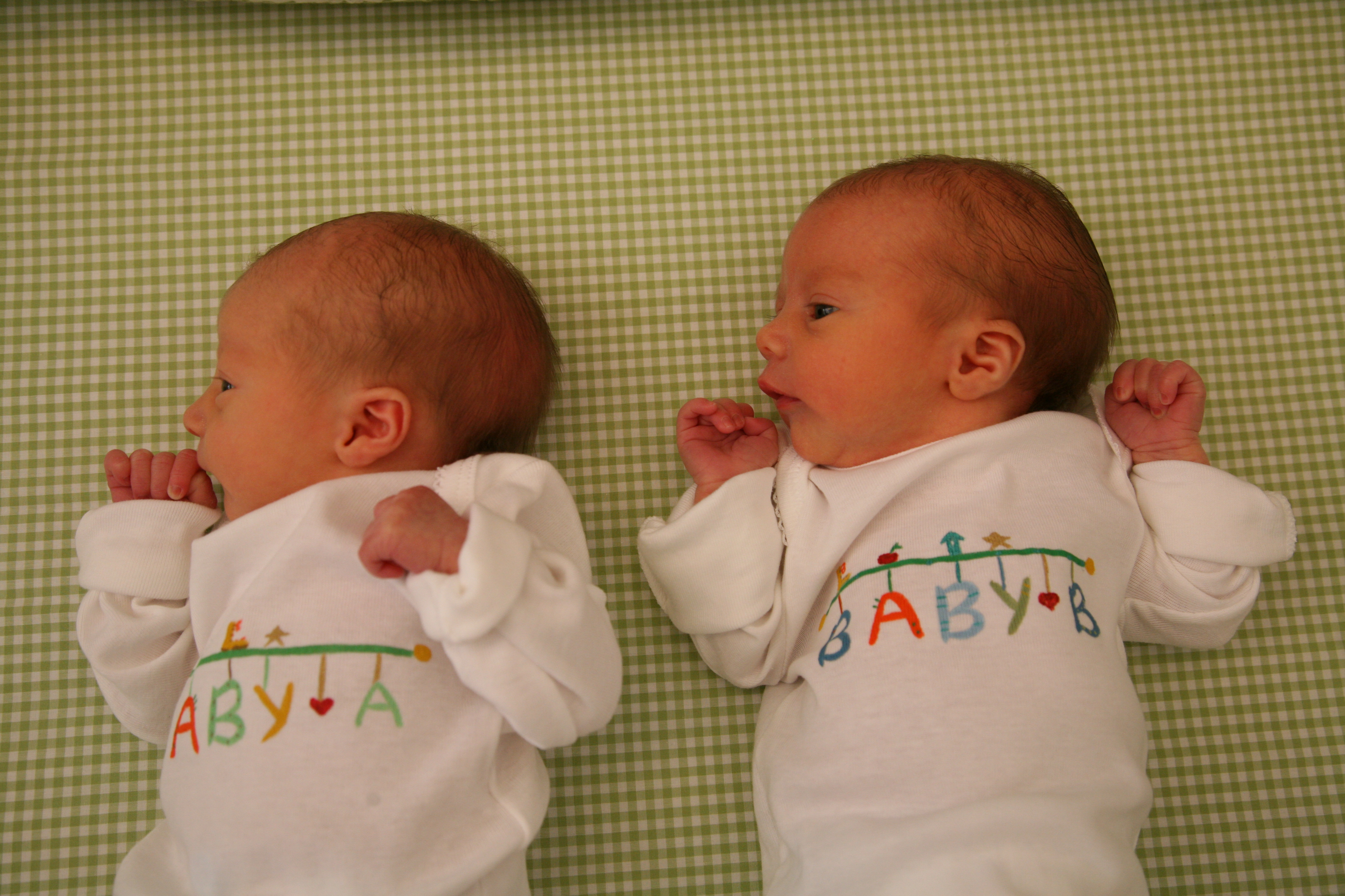 Not identical twins doing everything together must see 5